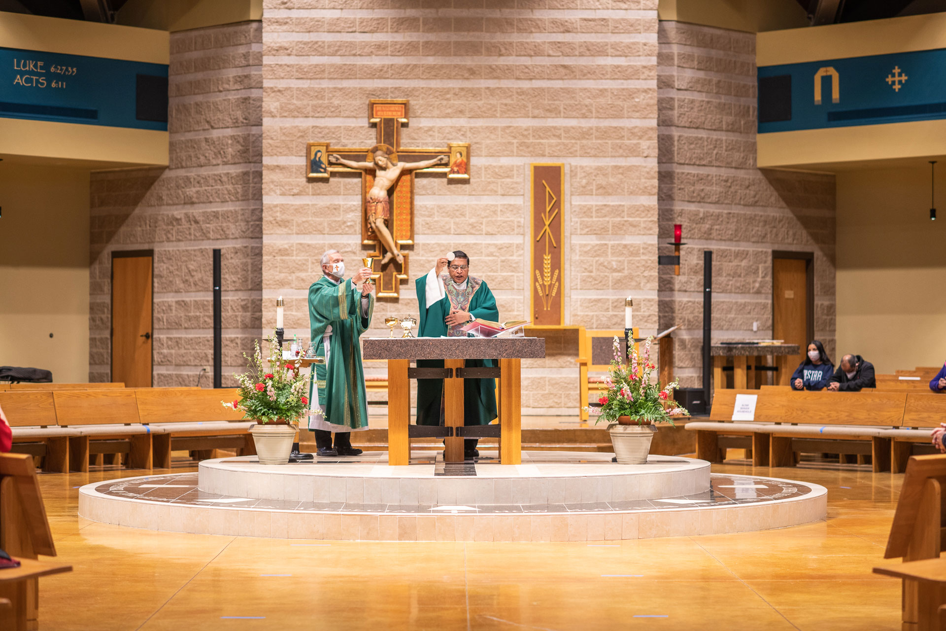 Saint Stephen Eucharist Father Davis