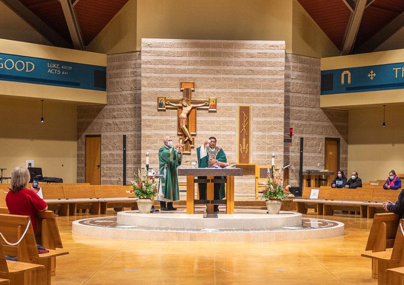 Eucharist Saint Stephen